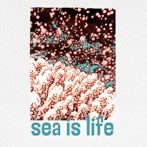 sea is life - Baseballkappe