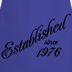 Established since 1976 Tee shirts - Tablier de cuisine