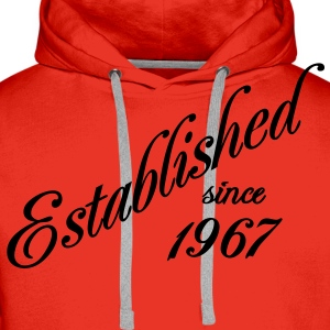 Established since 1967 T-shirts - Premiumluvtröja herr