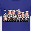 Milk Bar - Cow- Cows - Cartoon T-Shirt Shirts - Kids' Premium T-Shirt