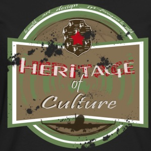 heritage of culture femme - T-shirt manches longues Premium Homme