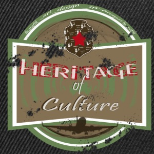 heritage of culture femme - Casquette snapback