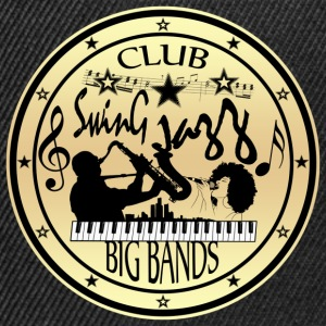 club swing jazz big bands Tee shirts - Casquette snapback
