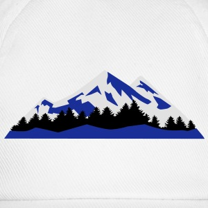 Mountain, Winter, snow - Baseball Cap