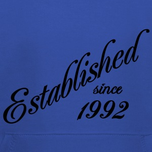 Established since 1992 T-skjorter - Premium Barne-hettegenser