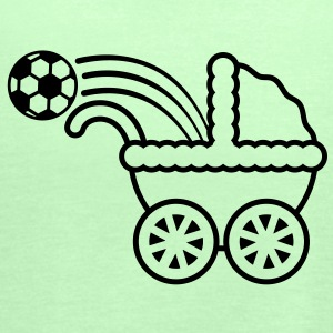 born_to_play_soccer T-shirts - Vrouwen tank top van Bella