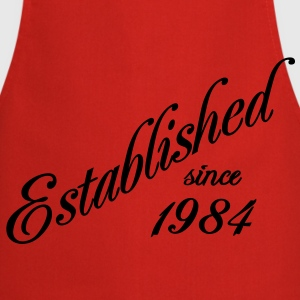 Established since 1984 Tee shirts - Tablier de cuisine