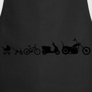 Motorcycle Evolution Chopper  T-Shirts - Cooking Apron