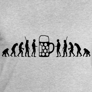Beer Evolution  T-Shirts - Men's Sweatshirt by Stanley & Stella