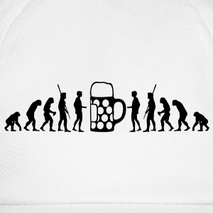 Evolution Bier Shirt - Baseballkappe