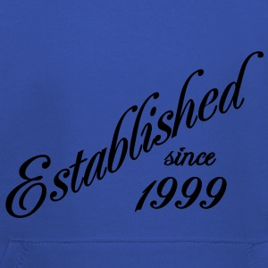Established since 1999 T-shirts - Kinderen trui Premium met capuchon