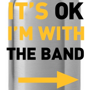 Im with the Band T-Shirts - Water Bottle