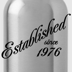 Established since 1976 T-Shirts - Trinkflasche