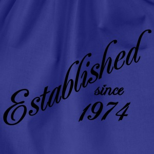 Established since 1974 Tee shirts - Sac de sport léger