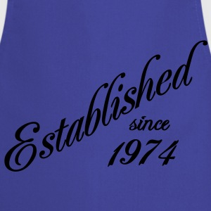 Established since 1974 Tee shirts - Tablier de cuisine
