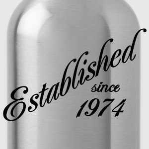 Established since 1974 T-Shirts - Trinkflasche