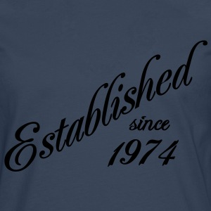 Established since 1974 Tee shirts - T-shirt manches longues Premium Homme