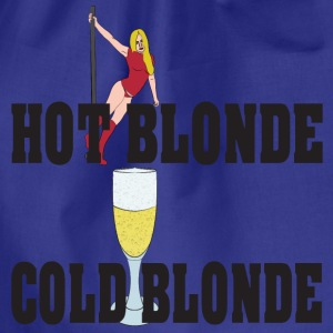 hot blonde froid blonde Tee shirts - Sac de sport léger