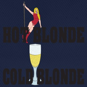 hot blonde cold blonde T-Shirts - Baseball Cap