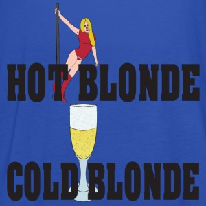 hot blonde cold blonde T-Shirts - Women's Tank Top by Bella