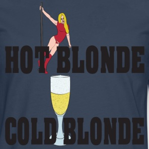 hot blonde froid blonde Tee shirts - T-shirt manches longues Premium Homme