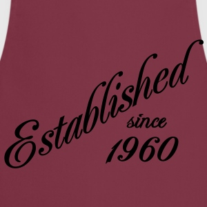 Established since 1960 Tee shirts - Tablier de cuisine
