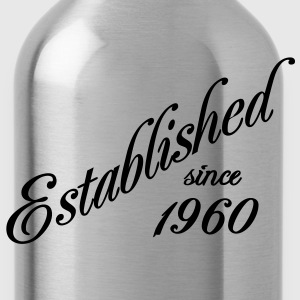 Established since 1960 T-Shirts - Trinkflasche