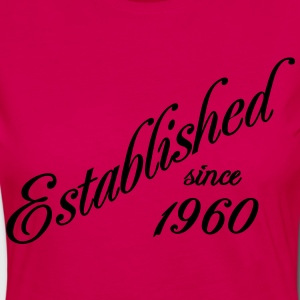 Established since 1960 T-Shirts - Frauen Premium Langarmshirt