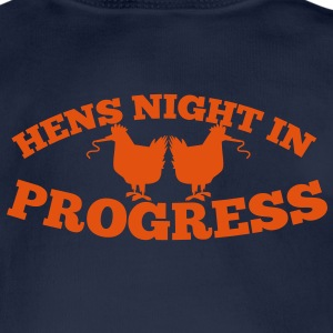 HENS NIGHT in progress! with chooks and party whis Shirts - Baby Bodysuit