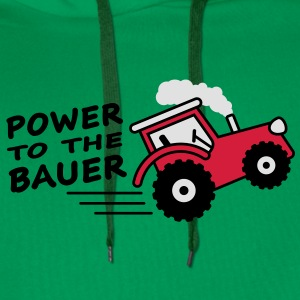 power_to_the_bauer T-shirts - Herre Premium hættetrøje