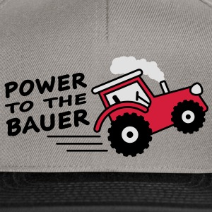 power_to_the_bauer T-skjorter - Snapback-caps