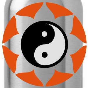 Yin Yang Mandala. Buddhism T-Shirts - Water Bottle