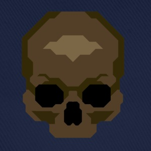 Pixelated Skull - Basebollkeps