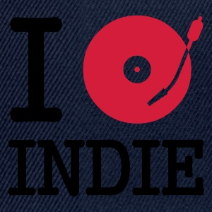 :: I dj / play / listen to indie :-: - Snapback Cap