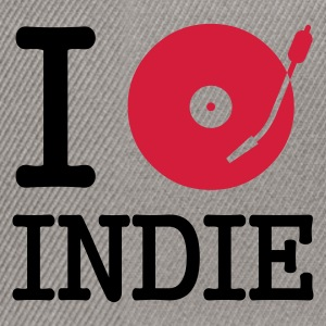 :: I dj / play / listen to indie :-: - Snapback-caps