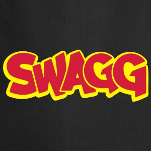 Swagg graff outlined T-Shirts - Cooking Apron