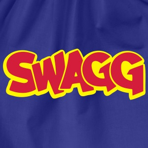 Swagg graff outlined T-Shirts - Drawstring Bag