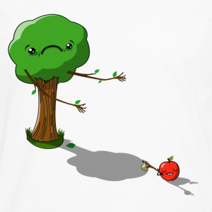 Apple's father T-shirts - Långärmad premium-T-shirt herr