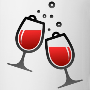 Wine Glasses (dd)++ T-Shirts - Mug