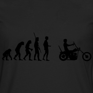 Chopper Evolution  T-Shirts - Men's Premium Longsleeve Shirt