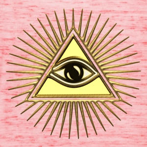 Pyramid Eye - symbol consciousness & divinity. T-Shirts - Frauen Tank Top von Bella
