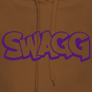 Swagg graff outline T-Shirts - Women's Premium Hoodie