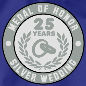 MEDAL OF HONOR 25th SILVER WEDDING 3C T-Shirt - Gymtas