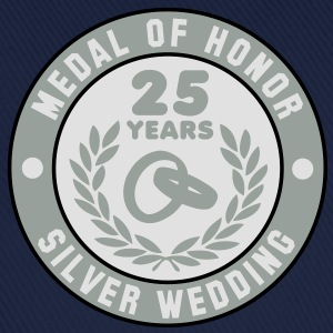 MEDAL OF HONOR 25th SILVER WEDDING 3C T-Shirt - Basebollkeps