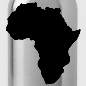 map world shape of africa Shirts - Water Bottle