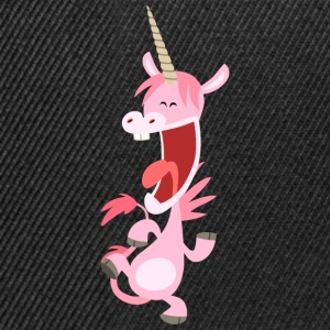 Licorne rose qui danse par Cheerful Madness!! Tee shirts - Casquette snapback