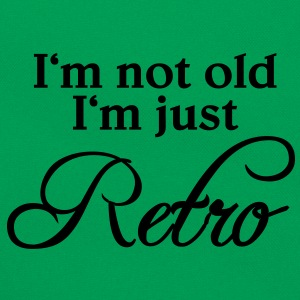 I'm not old, I'm just retro T-shirts - Retro taske