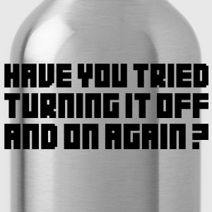 Turn it Off T-Shirts - Water Bottle