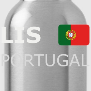 Women's T-Shirt LIS PORTUGAL white-lettered - Water Bottle