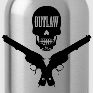 outlaw tattoo style T-shirts - Drinkfles